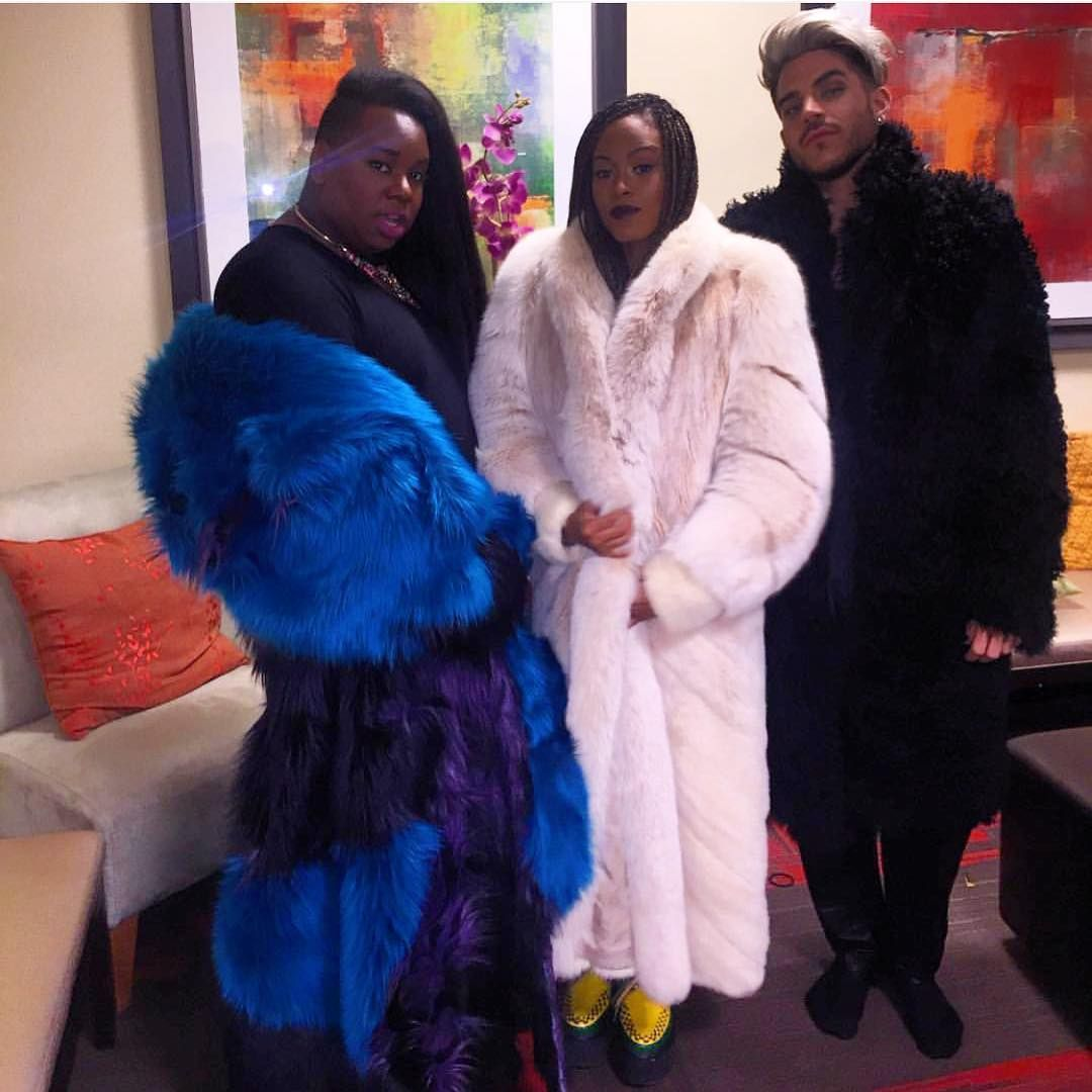 Fur Real Tho @hollyhoneychile @thealexnewell