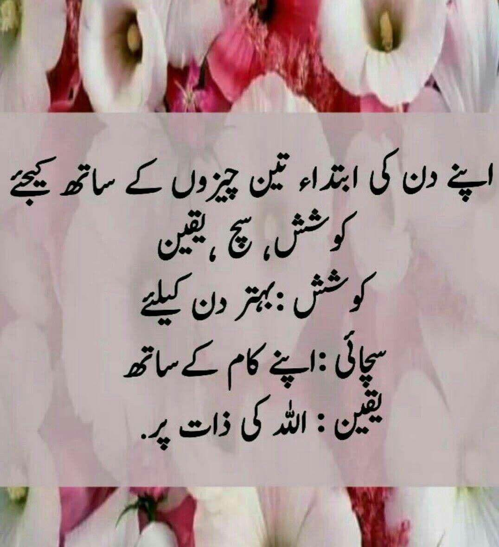 Naseehat, Koshish, Yaqeen, Sach | Islamic phrases, Love ...