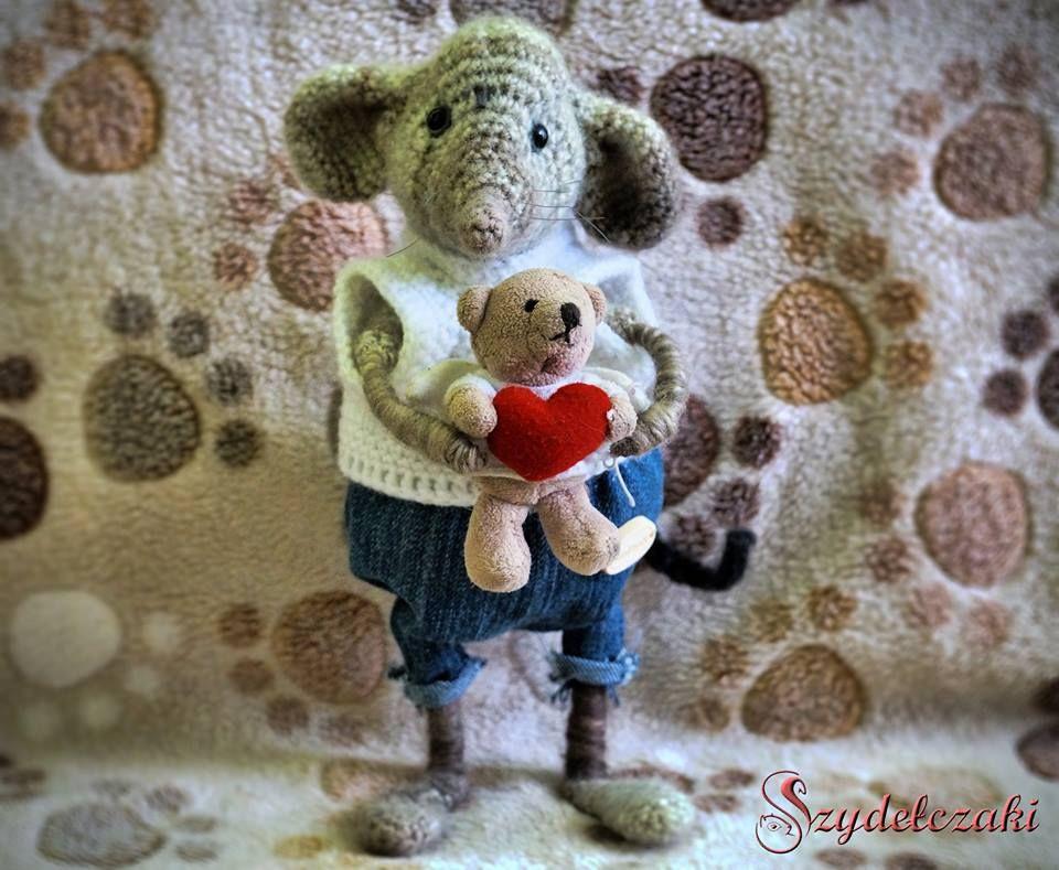 Crochet sweet mause