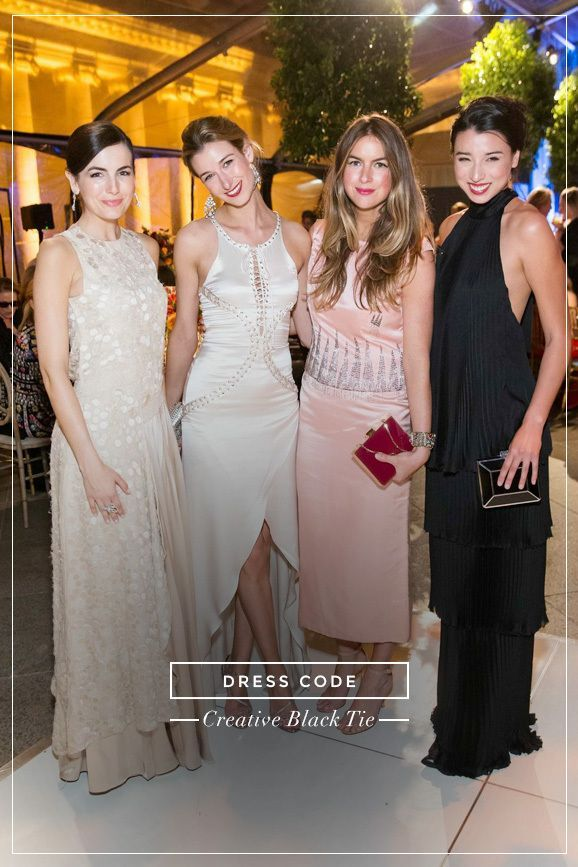 edeebc7374b What Every Single Dress Code Means  A Complete Guide Black Tie Wedding  Guests