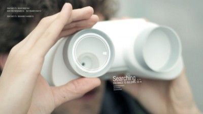 The Urban Sense is more like a couple of binoculars that uncover otherworldly data about the sight that you are survey.