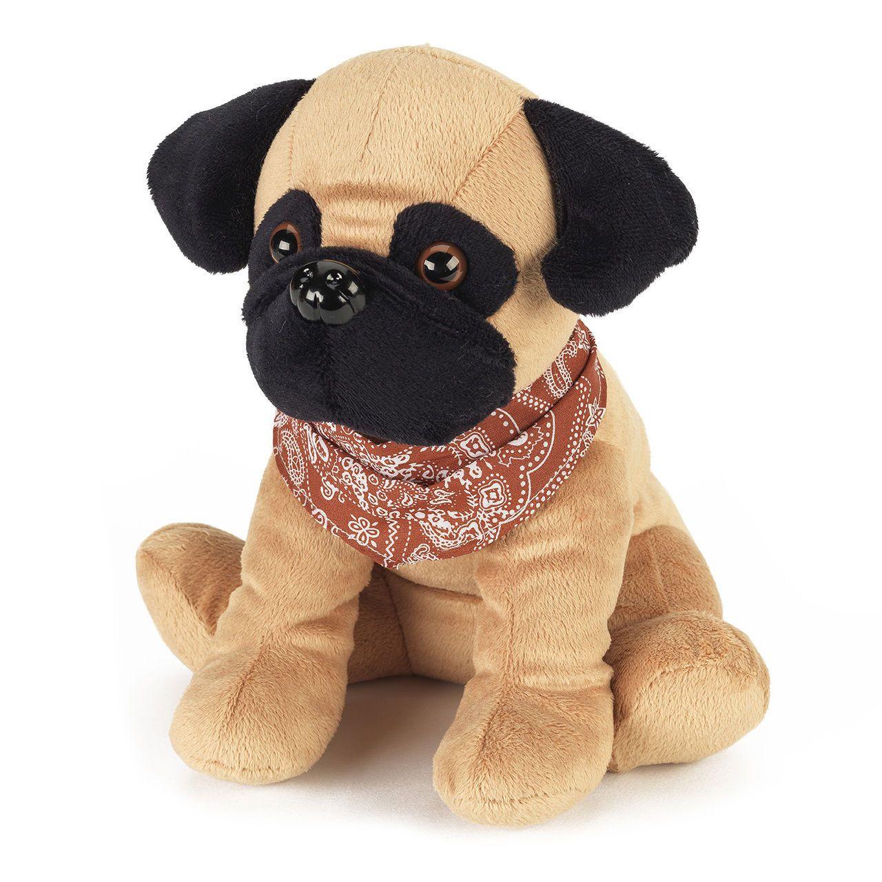 Cozy Plush Pets Microwavable Heatable Pugsy The Pug Soft