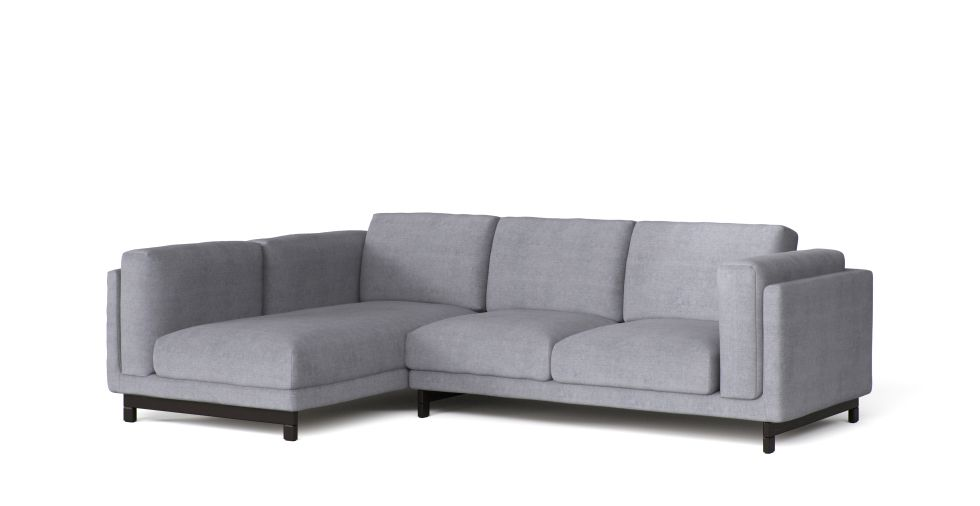 Remarkable Nockeby 2 Seater And Chaise Left Sofa Cover Furniture Options Ibusinesslaw Wood Chair Design Ideas Ibusinesslaworg