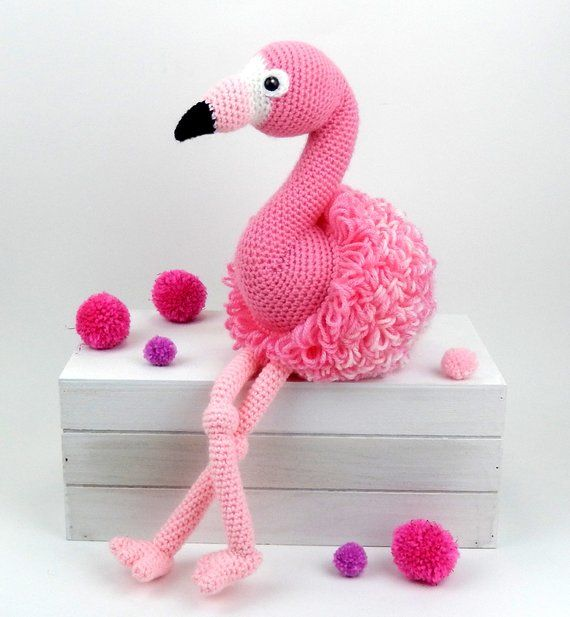Pattern Flamingo Friends Crochet Flamingo Pattern Ami