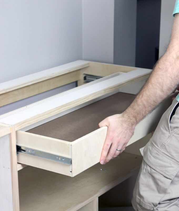 How To Build A Drawer Tutorial Woodworking Workbench Woodworking Furniture Woodworking