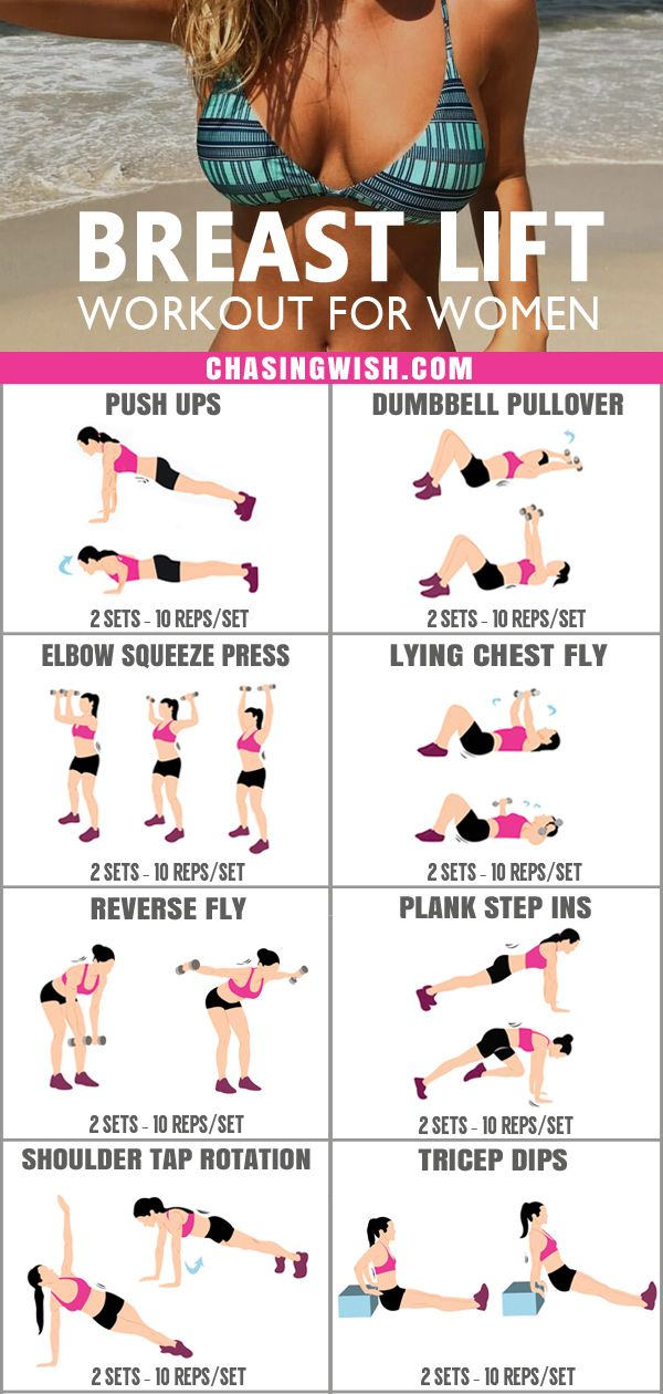 Intense Breast Lift Workout For Women! Results Will Amaze You! #workout