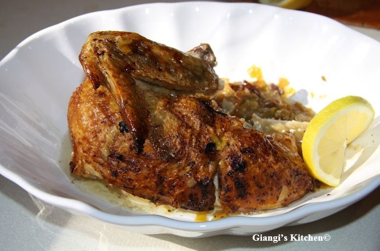 Boneless Chicken with Leeks and Lemons
