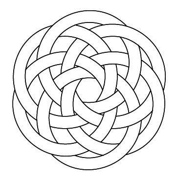 Celtic Knotwork Hexagon4 by Peter Mulkers | moodboard-02 | Pinterest ...