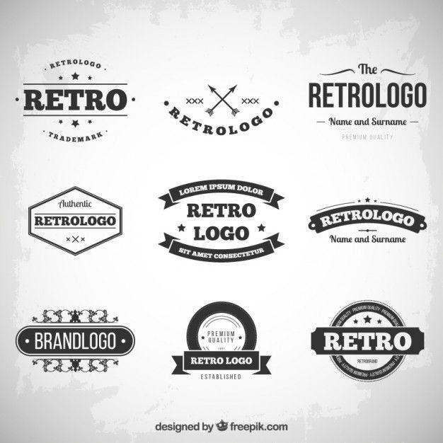 Download Retro Logos Collection For Free Logo Templates Retro Logos Vintage Logo