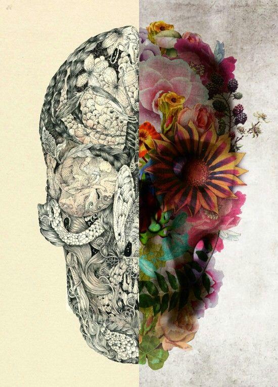 Pin By Michele Marton On Tattoos Bipolar Art Flower Tattoo Drawings Drawings