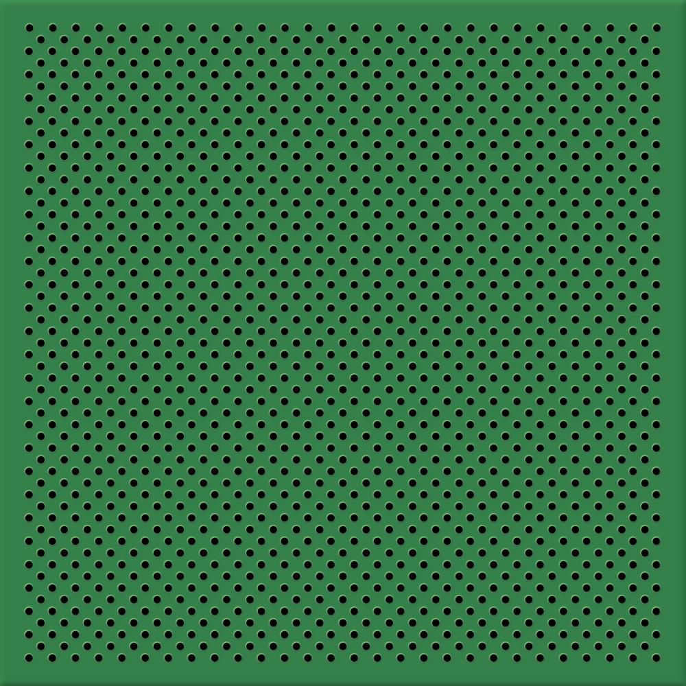 Toptile Green 2 Ft X 2 Ft Perforated Metal Ceiling Tiles 1 Pallet Of 40 Cases Hcw55104 In 2020 Metal Ceiling Tiles Metal Ceiling Ceiling Tiles
