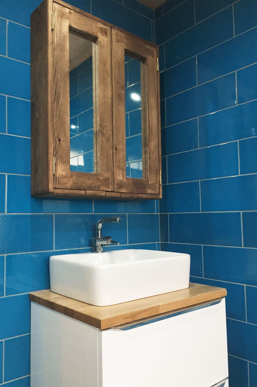 Large Bathroom Mirror Cabinet Dark Wood Cabinet Rustic Etsy Mirror Cabinets Large Bathroom Mirrors Bathroom Wall Cabinets [ 3000 x 1992 Pixel ]