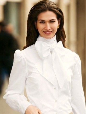 Vintage Blouses: Vintage Bow Tie Blouse | Collars and Fashion 6 ...