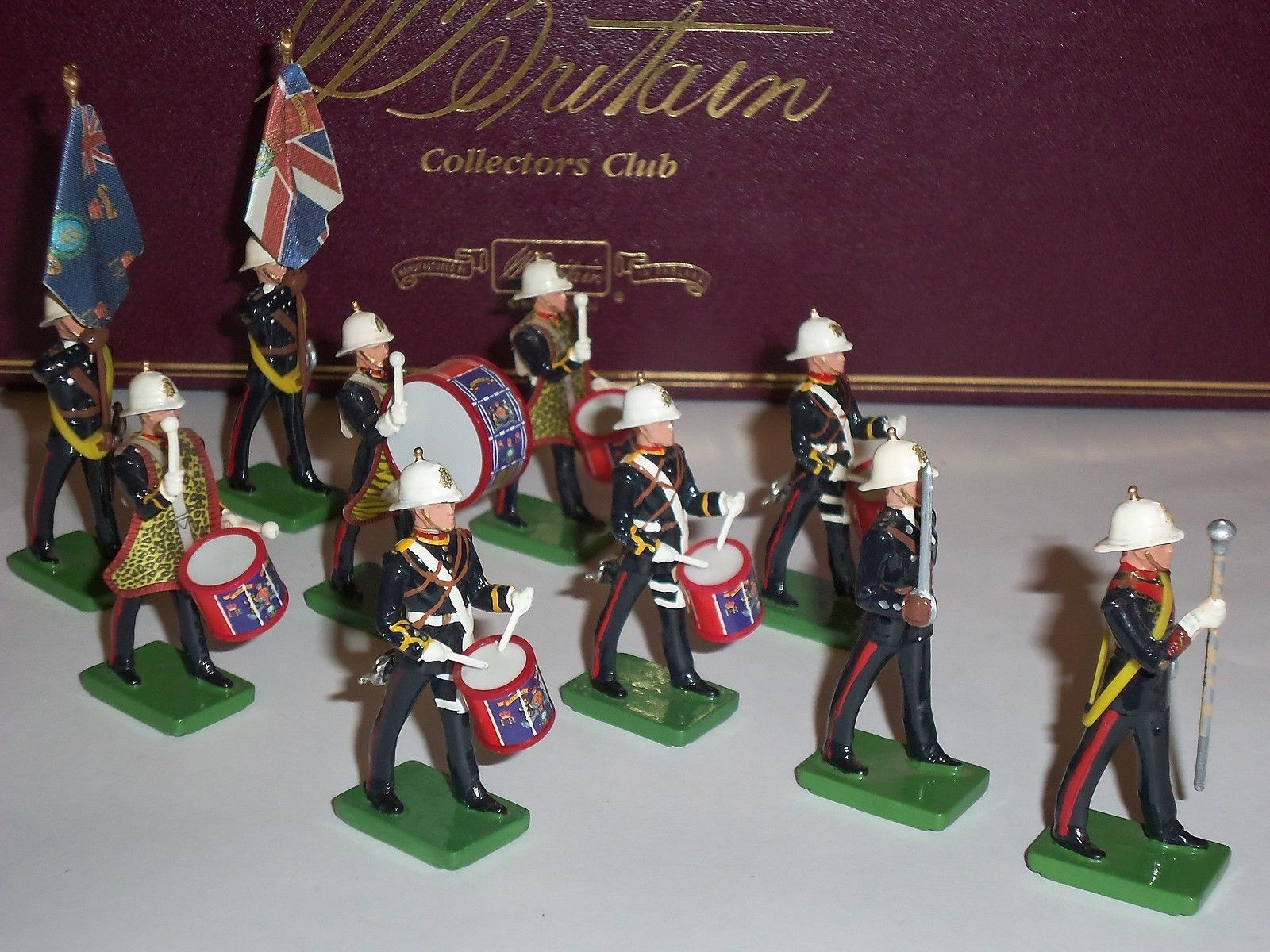 Band Game Toy : Britains collectors club royal marine limited edition