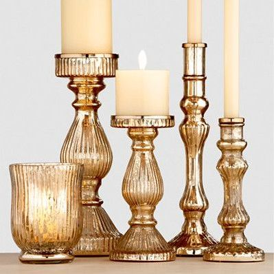 Jackie Fo: Champagne, Blush And Gold Wedding Inspiration Easy Peasy Gold  Spray Paint On Cheap Candle Holders
