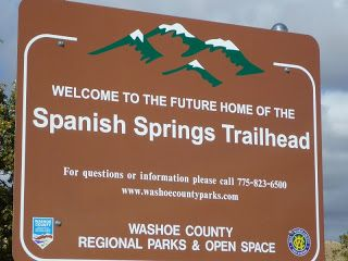 Trailing Ahead: Spanish Springs Trailhead has been dedicated
