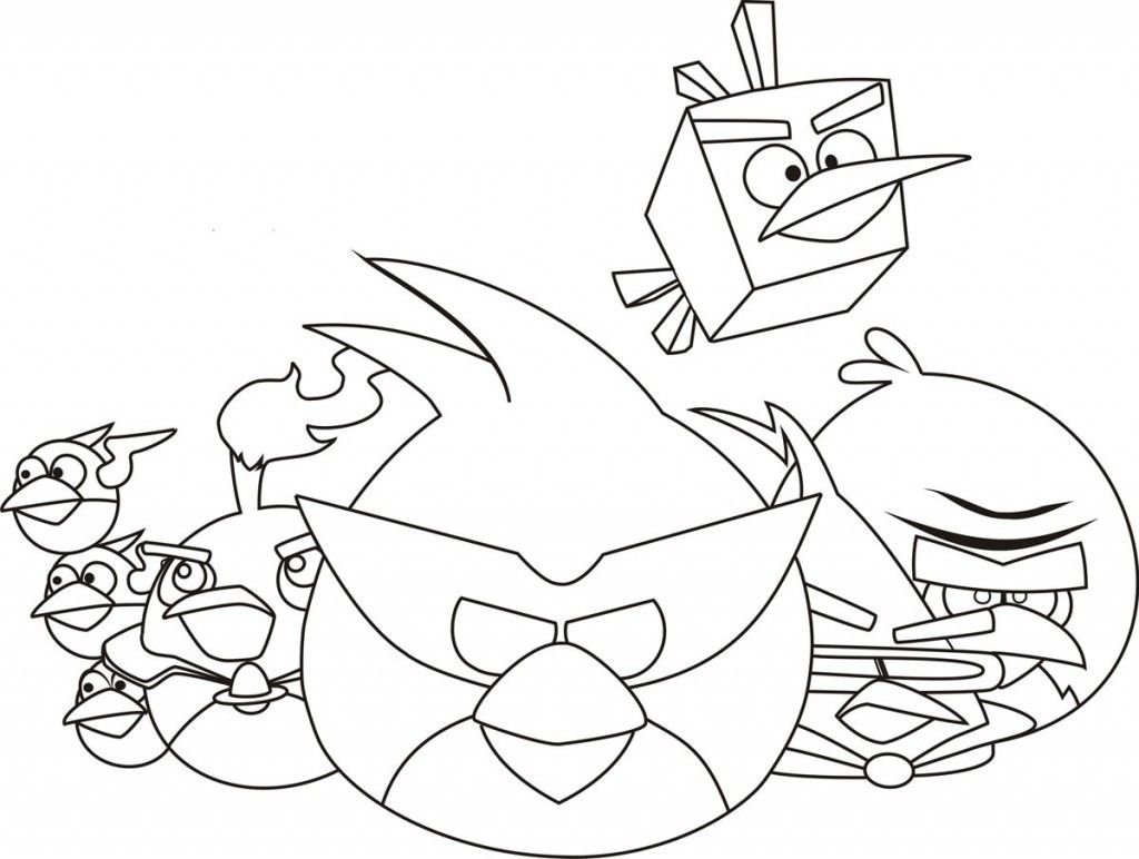Angry Birds Coloring Pages Online Bird Coloring Pages Unicorn Coloring Pages Space Coloring Pages