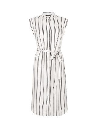 Robe chemise blanche new look