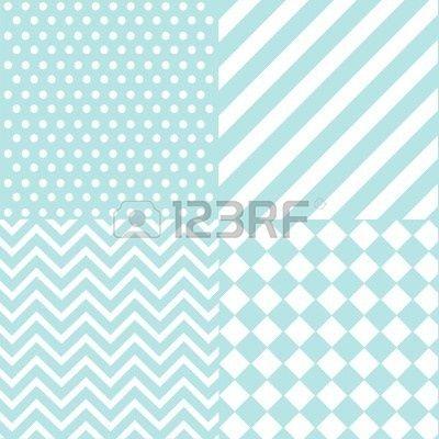 Seamless Baby Boy Pattern Wallpaper