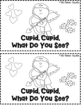 Cupid, Cupid, What Do You See? Valentine's Day-themed emergent reader (K-1)