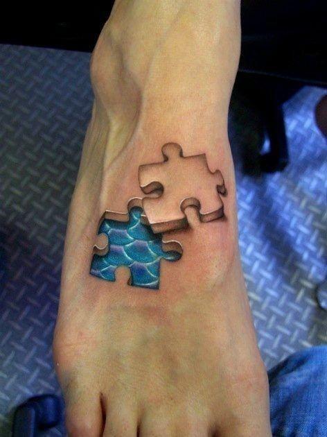 Puzzle / Amazing tattoo