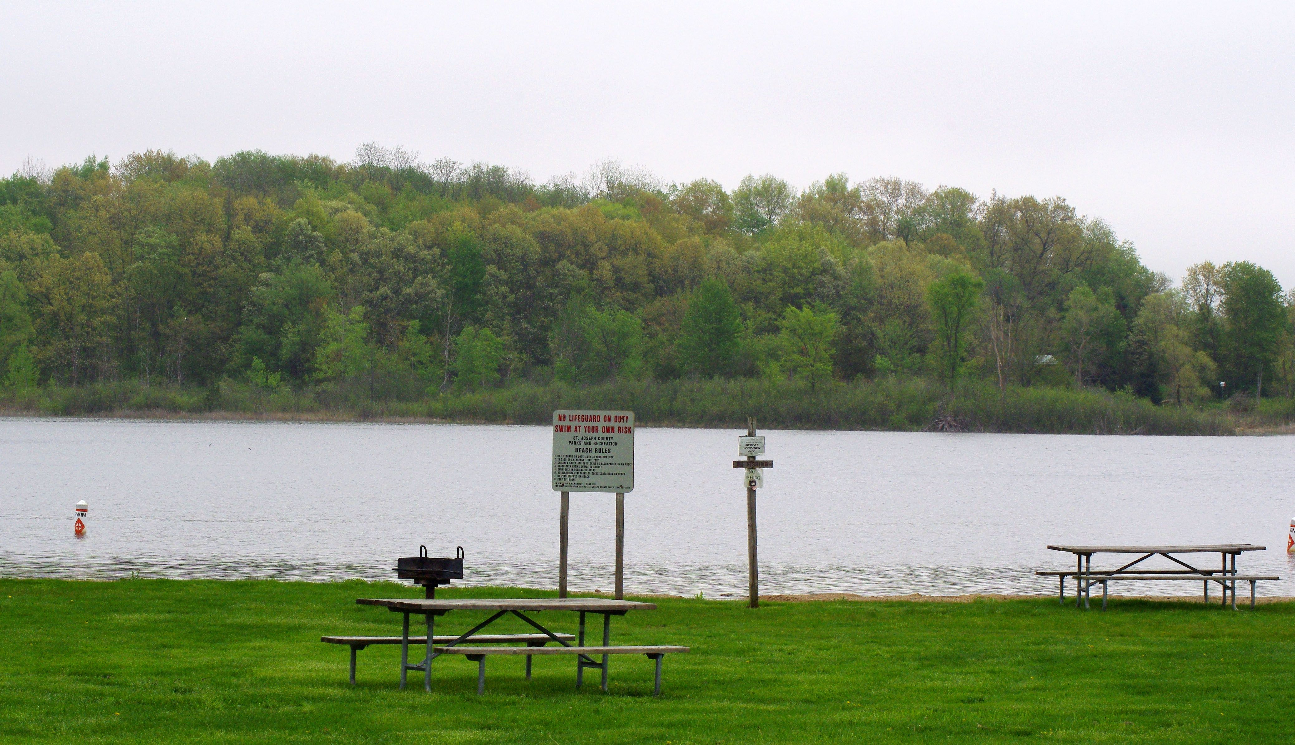 Cade Lake Park and Campgrounds east of