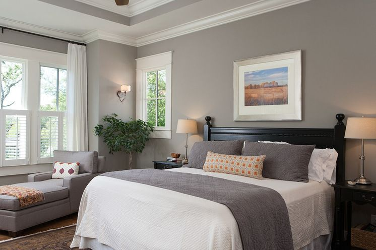 craftsman bedroomashley rohe design there's nothing gloomy about