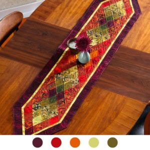 Rust Colored Table Runner