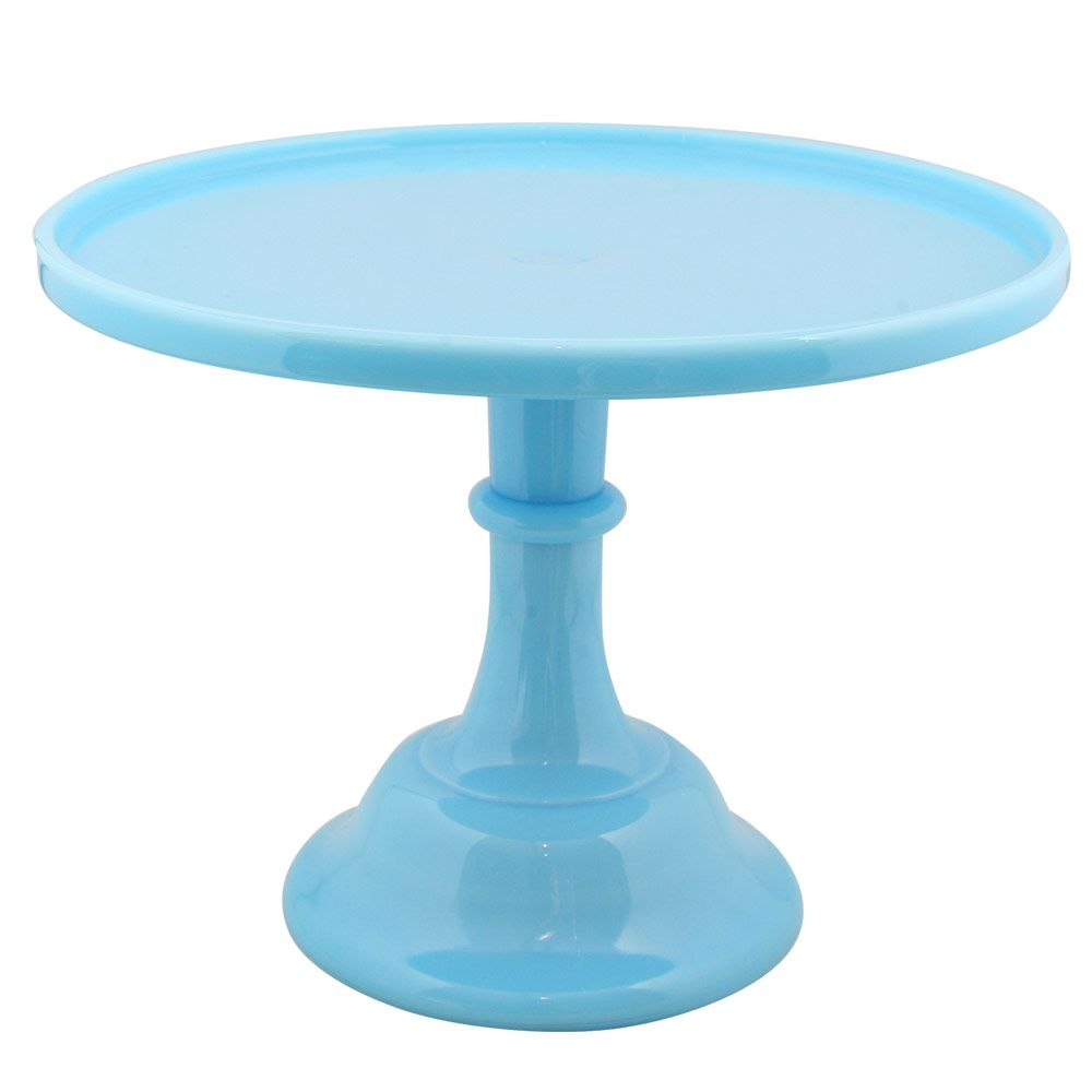 Cake stand robins egg 12 serveware glass cakes