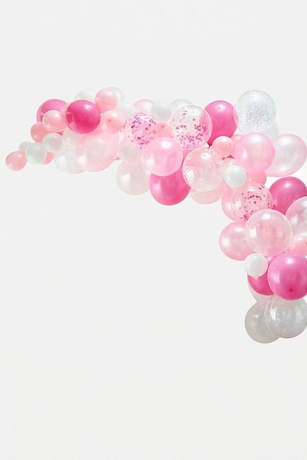 Ginger Ray Pink Balloon Arch Kit | Urban Outfitters UK