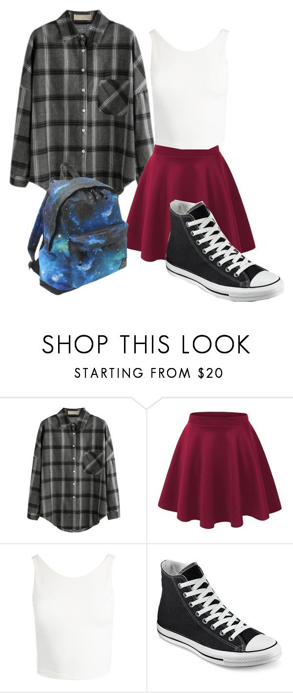 """""""Untitled #104"""" by kyrsten-maningo on Polyvore featuring Sans Souci, Converse and Hot Tuna"""