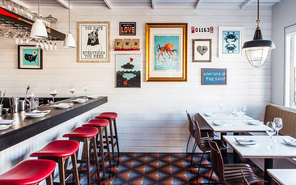 How To Throw A Kickass Summer Seafood Boil Restaurant Interior Restaurant Bar Design Restaurant