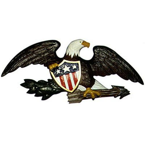 Deluxe American Freedom Symbol Wall Eagle | House plaques ...