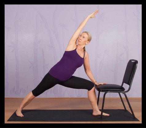 top chair yoga poses for seniors  chair pose yoga chair