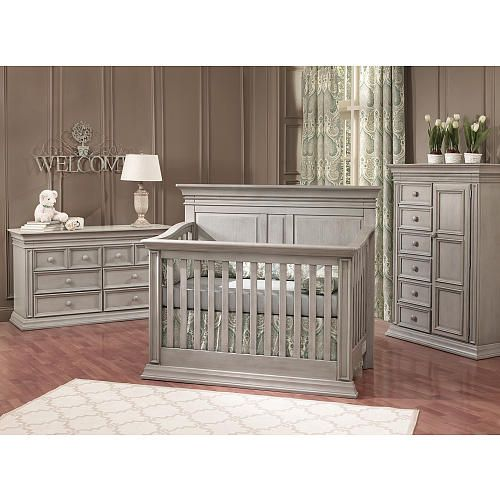 Baby Cache Vienna 4 In 1 Convertible Crib Ash Gray Grey And Sets