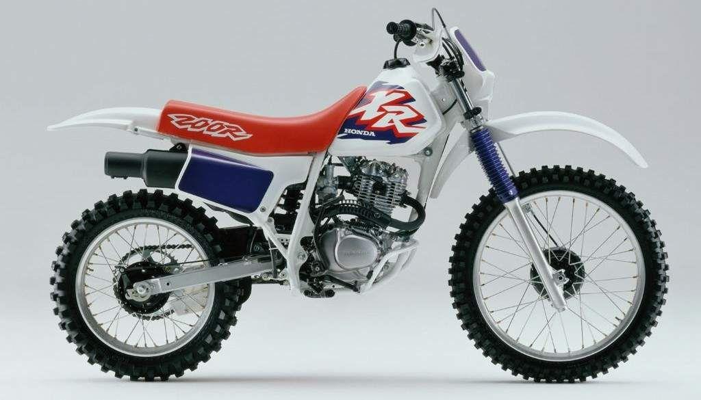 Honda Xr 200 Honda Motos Motocross