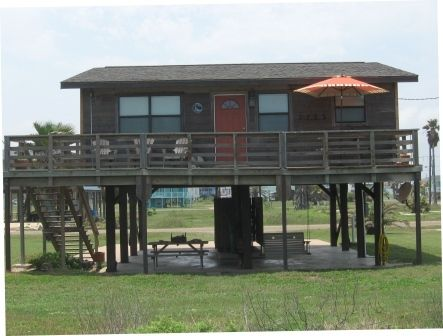 Our beach rental for Labor Day Weekend!  Surfside Beach, Texas!