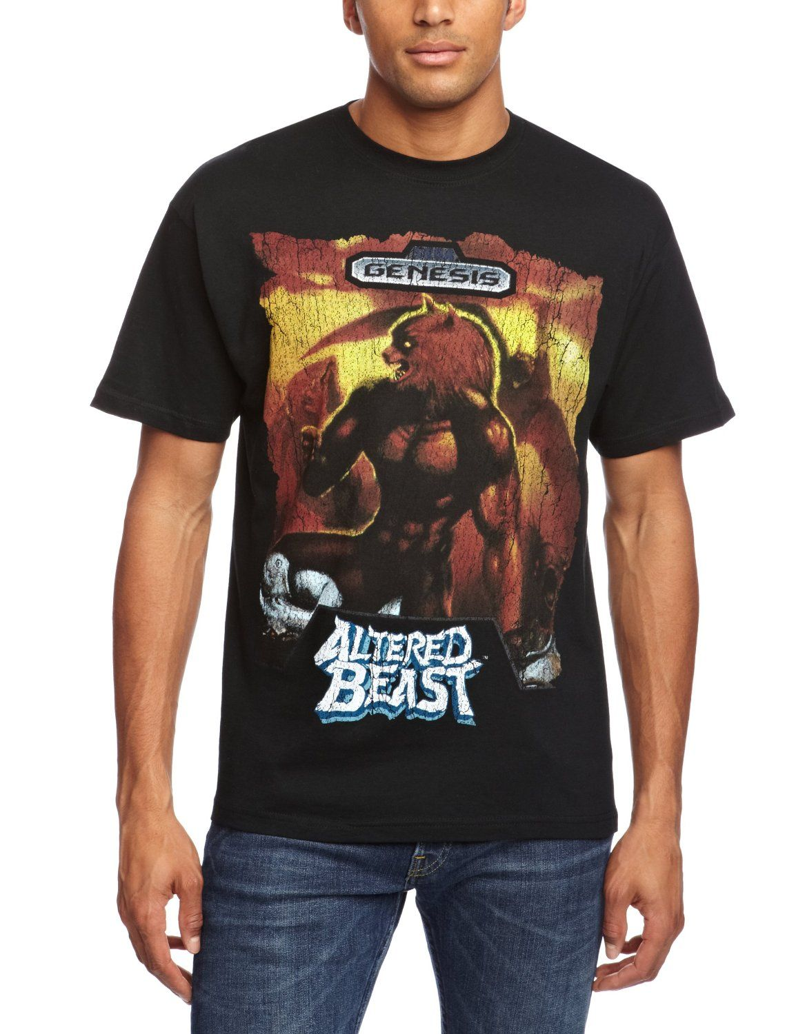 Plastic Head Sega Altered Beast Men's T-Shirt Black Small