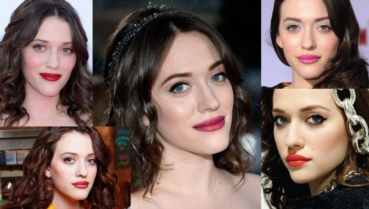 10 Kat Dennings Makeup Looks: Not Always Red Lipstick