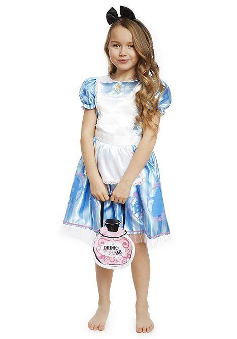 Tesco Direct Disney Alice In Wonderland Dress Up Costume Sc 1 St Pinterest