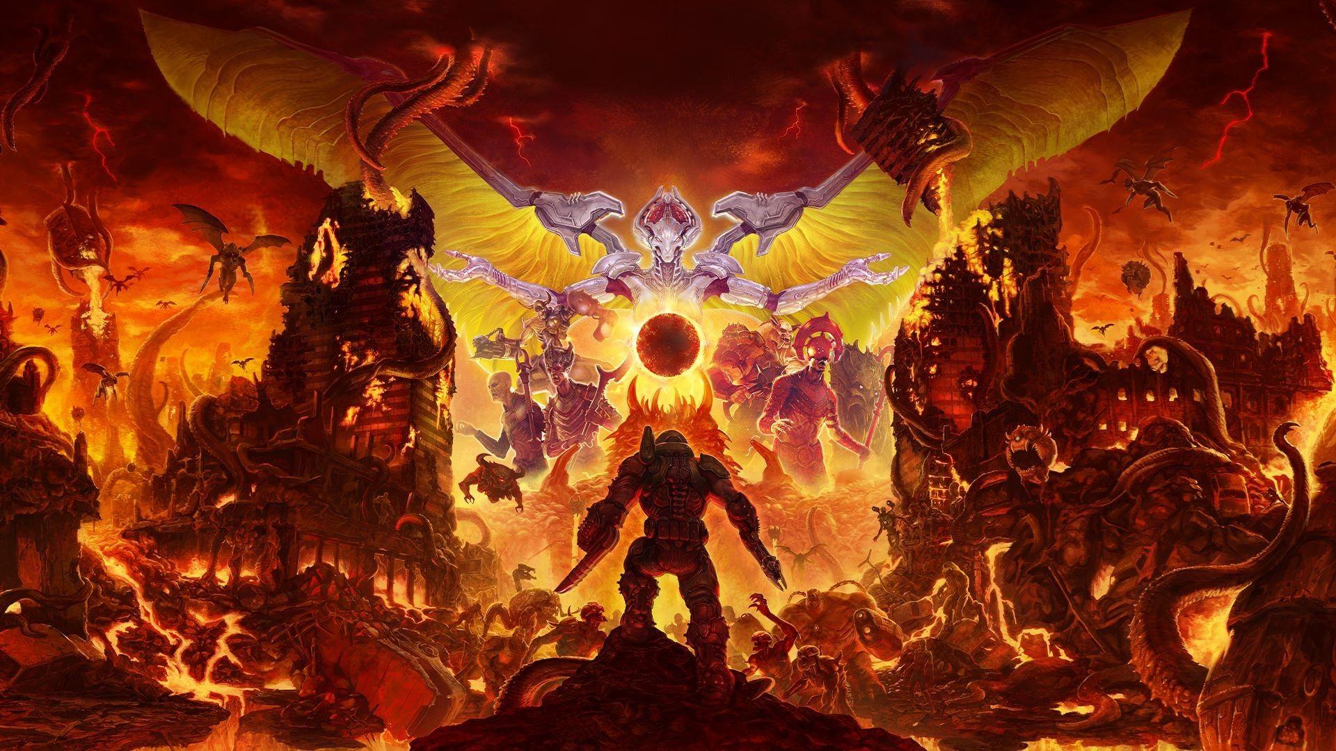 Doom Eternal Doom Doom2019 Doometernal Fps Doom Game Doom Demons Slayer Hd wallpaper heavy metal machines game