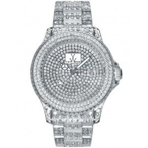 Toy Watch Total Stones White Unisex