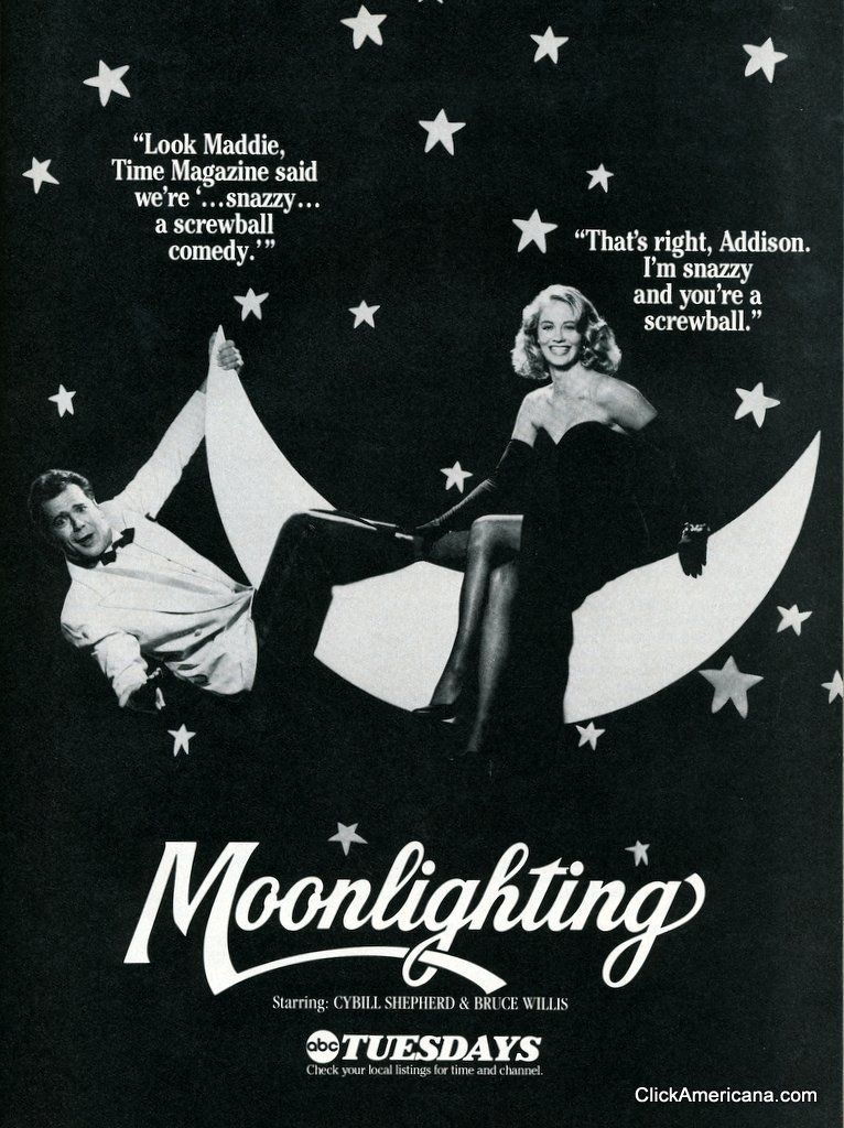 Moonlighting A snazzy, screwball comedy (1986