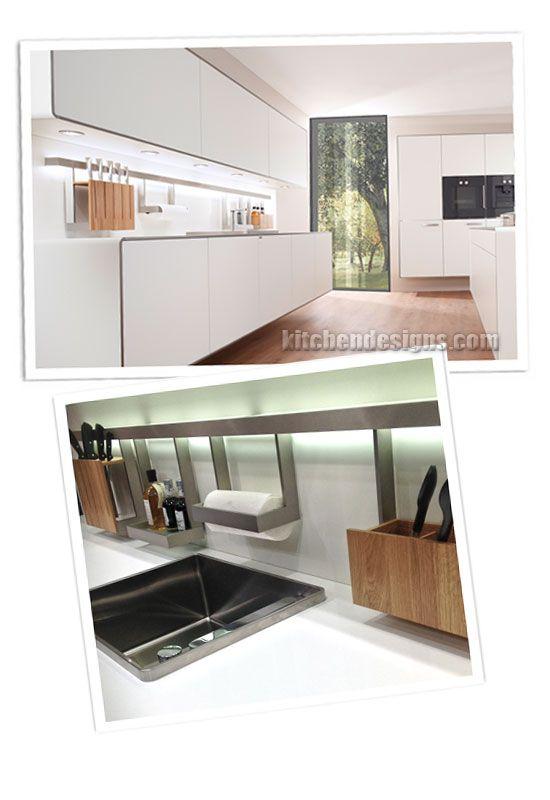 Allmilmo accessories railing system with integrated lighting - küchen modern design