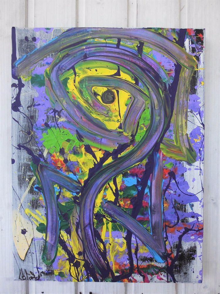 Wunderbar Bild Abstrakt Acryl Bilder Modern Gemälde Kunst Original Deko Wandbild