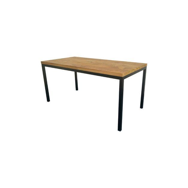 Wir bieten einen modernen Tisch Unikat aus Eiche Nur aus 3