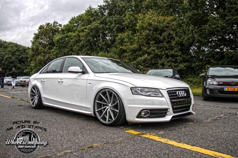Audi A4 On Vossen Cvt S Audi A4 Audi Motor New Luxury Cars