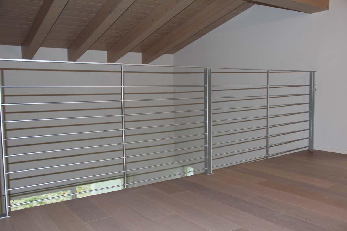 Risultati immagini per corrimano per scale moderne home - Corrimano in vetro per scale ...