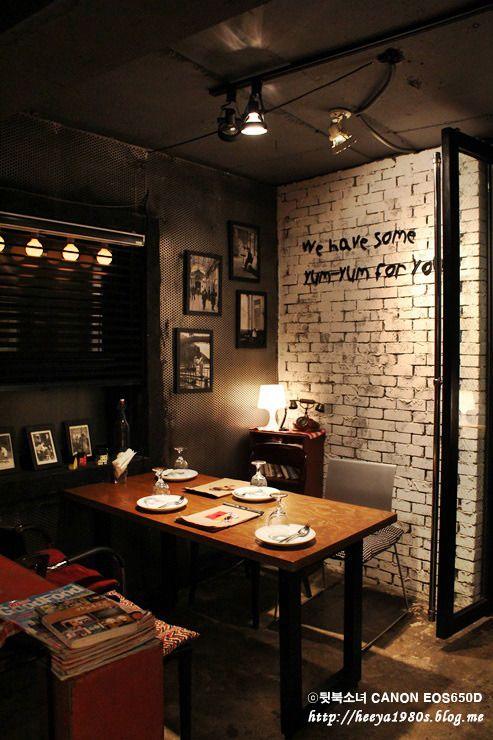 식당 인테리어 - Google 검색  interior  Pinterest  Google, 검색 및 음식점