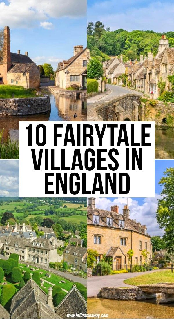 10 Pretty English Villages Out of a Fairytale